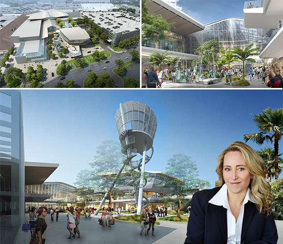 Renderings of Aventura Mall's new 315,000-square-foot wing and Jackie Soffer