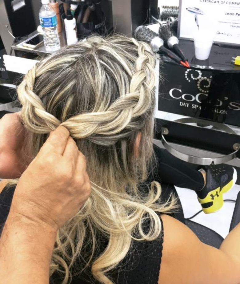 Coco's Hair Salon and Spa at Aventura Mall in Miami