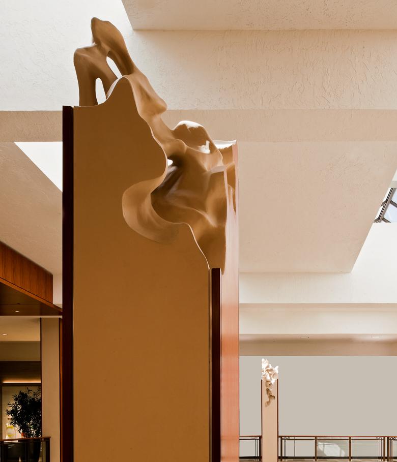 Columns by Daniel Asham at Aventura Mall in Miami