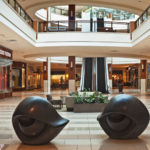 Eye Bench's by Louise Bourgeois at Aventura Mall in Miami