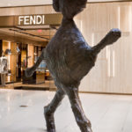 Walking Figure by Donald Baechler at Aventura Mall in Miami