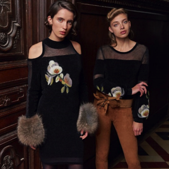 Anne Fontaine Delivers Chic Fall/Winter 2017-2018 Collection