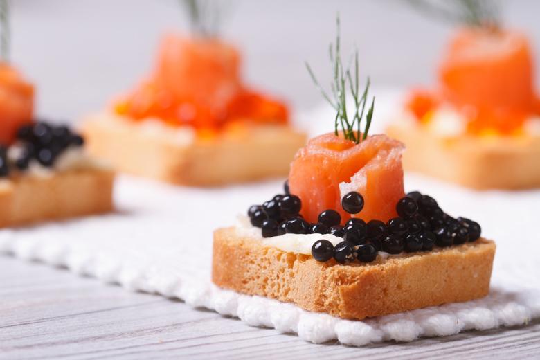 Caviar and More dining at Aventura Mall in Miami