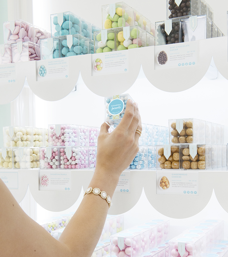 Sugarfina dining at Aventura Mall in Miami
