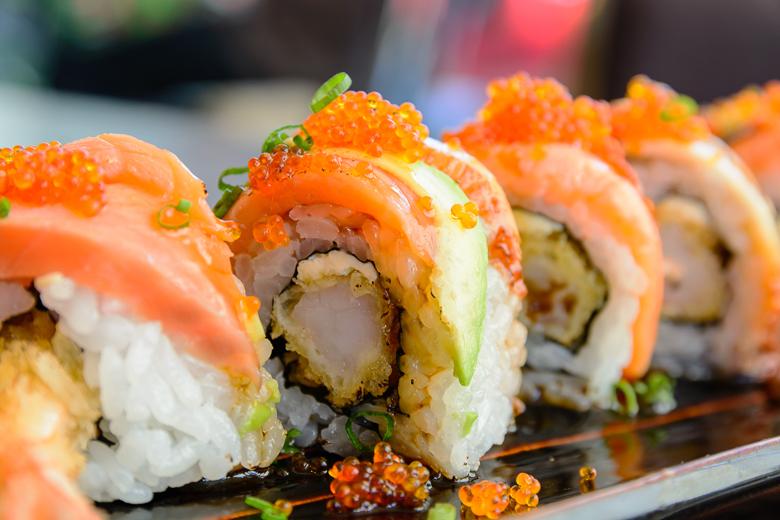 Sushi Siam dining at Aventura Mall in Miami