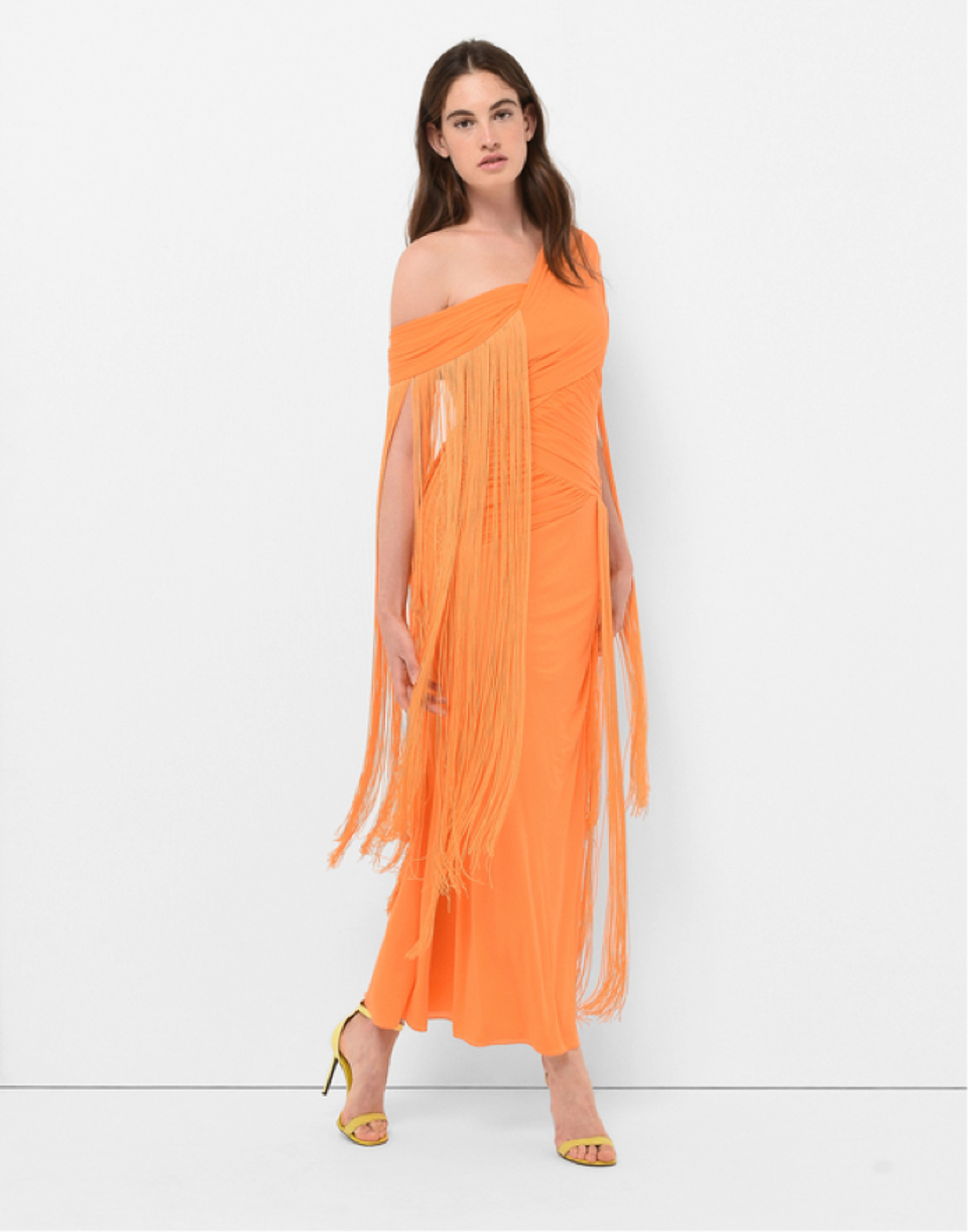 Warm, Ambitious And Enthusiastic U2013 Orange Is An Exuberant Hue Made For The  Lively At Heart. Itu0027s Hard To Miss A Woman Walking With Her Head Held High  In A ...