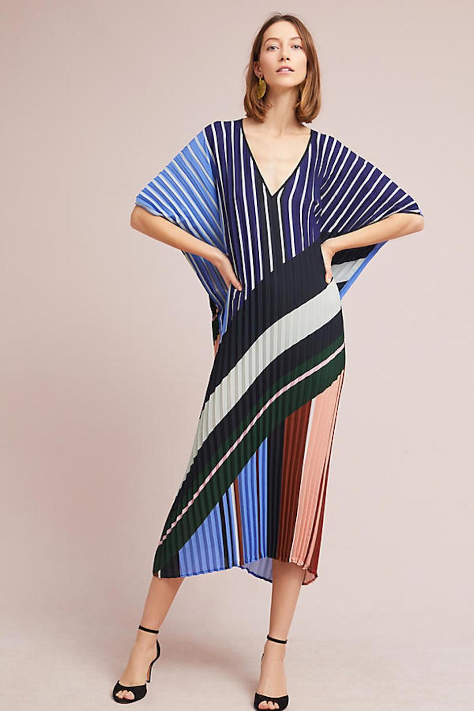 Mara Pleated Tunic Dress at Anthropologie, $348