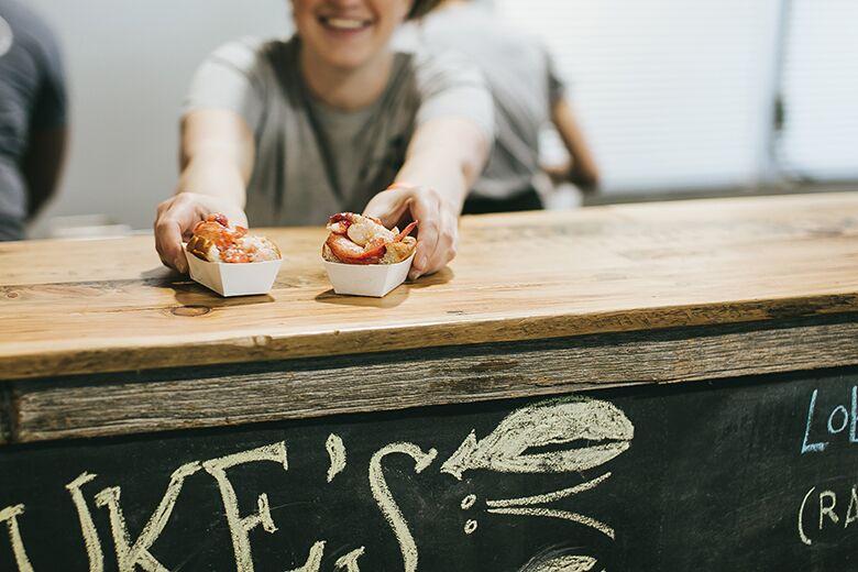 Sea to City: Luke's Lobster Now Open Inside Treats Food Hall