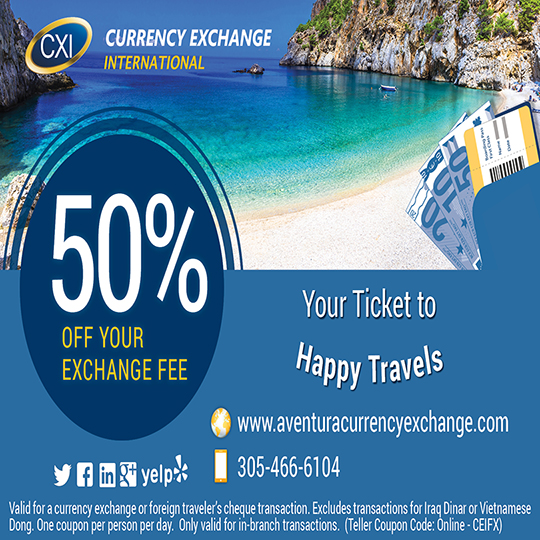 Currency Exchange: Save 50% Today!