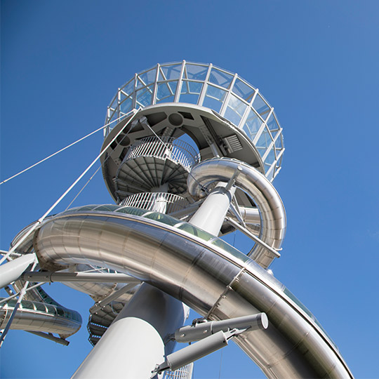 Experience the Aventura Slide Tower
