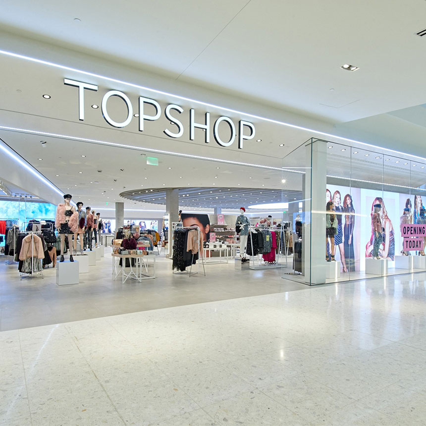 Topshop's Personal Touch