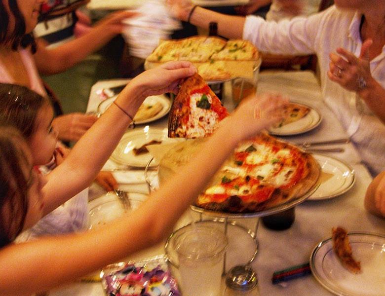 Family Night at Genuine Pizza at Aventura Mall in Miami