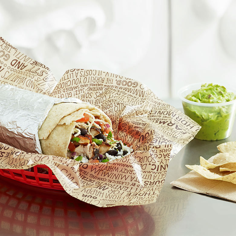 Chipotle Mexican Grill dining at Aventura Mall in Miami
