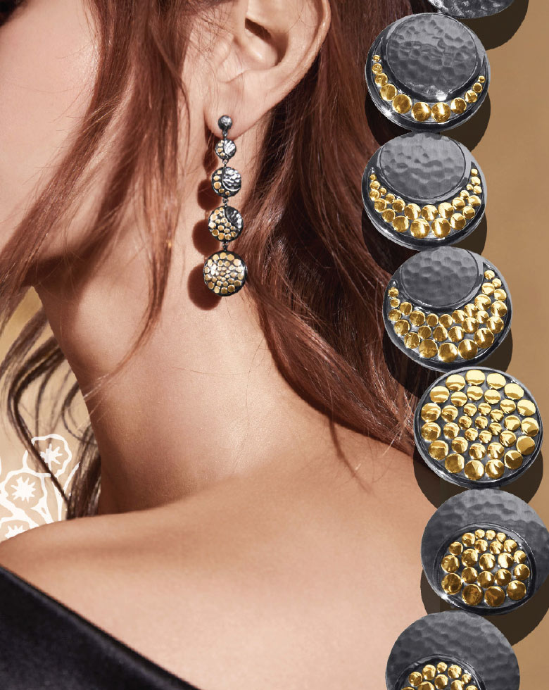 Womens luxury jewelry at John Hardy at Aventura Mall in Miami