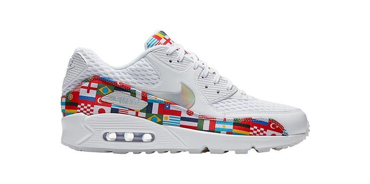 free shipping 28f12 f69b6 ... netherlands nike air max 90 flag shoes at champs 140 32ee4 98c99