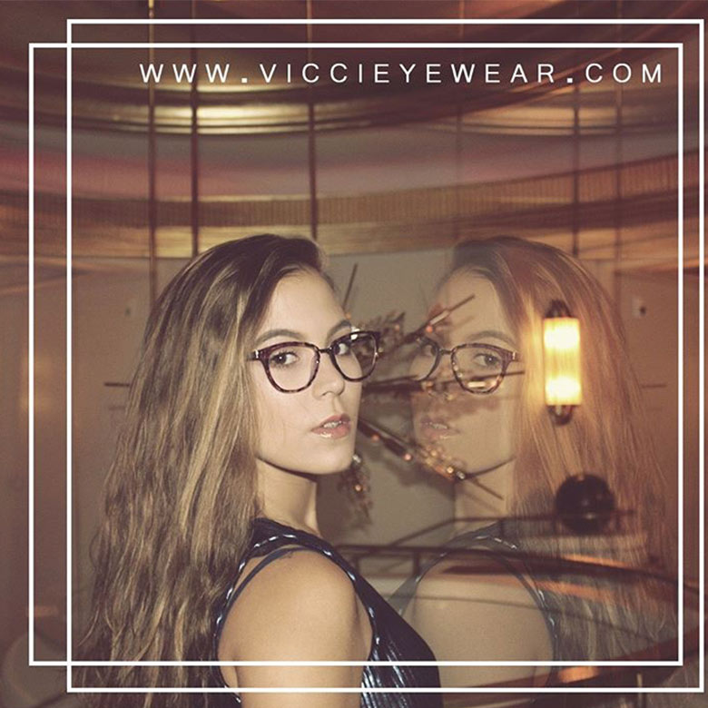 Vicci Eyewear fashion at Aventura Mall in Miami