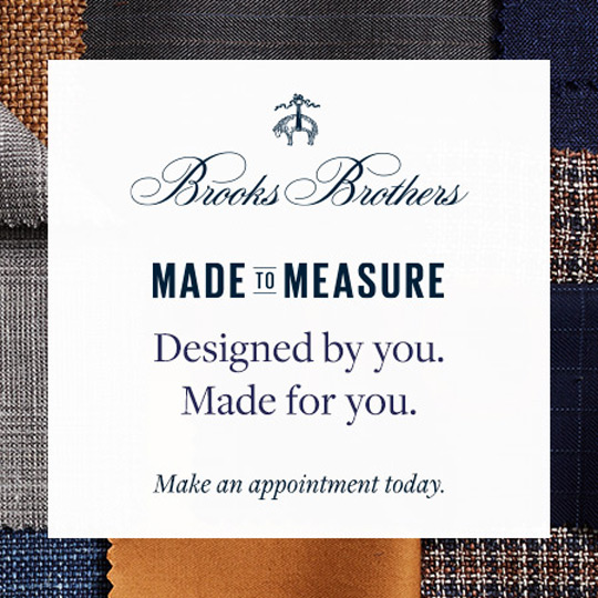 Brooks Brothers Spring Promotion
