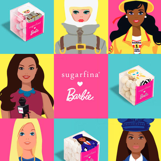 "Sugarfina x Barbie ""Achieve Your Sweetest Dreams"" Collection"