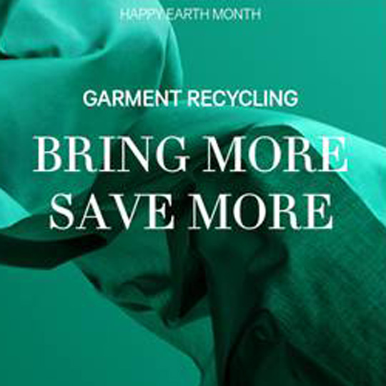 Garmet Recycling at H&M