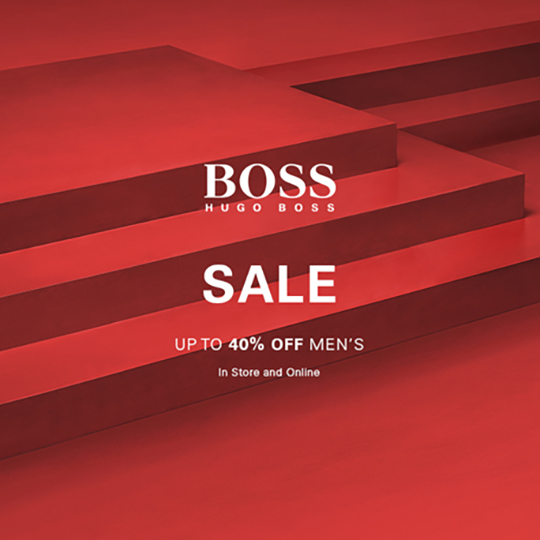 BOSS Hugo Boss Summer Sale