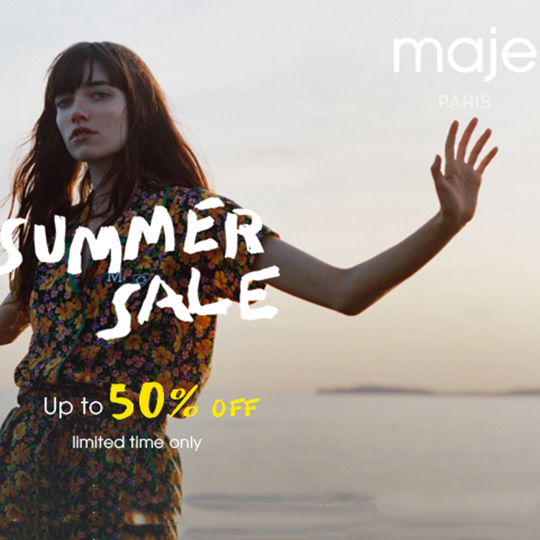 Maje Summer Sale