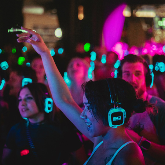 Sound Off Silent Disco with Equinox