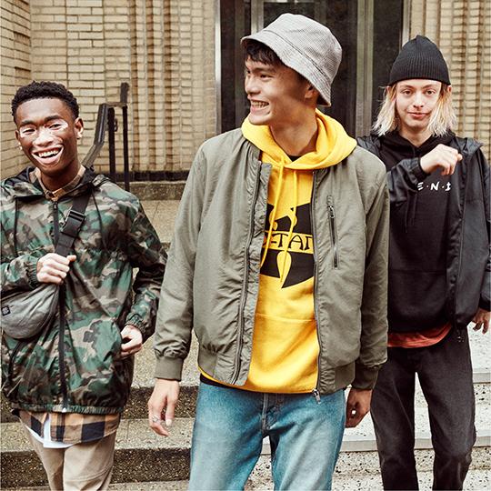 H&M Men's Streetwear Shop