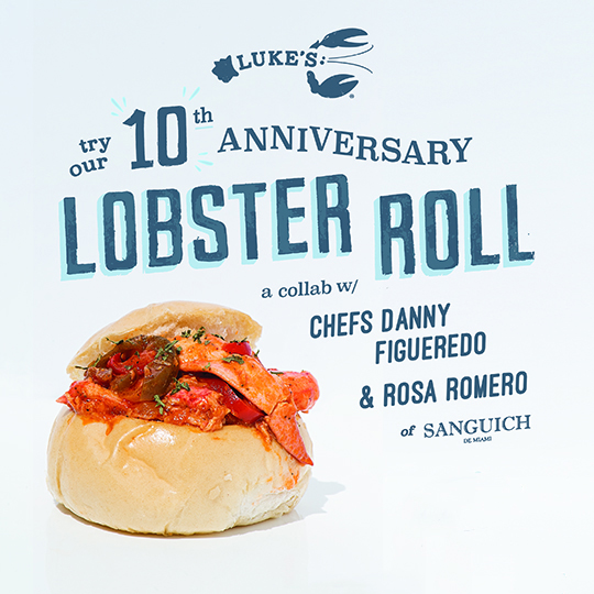Celebrate 10 Years of Luke's Lobster!