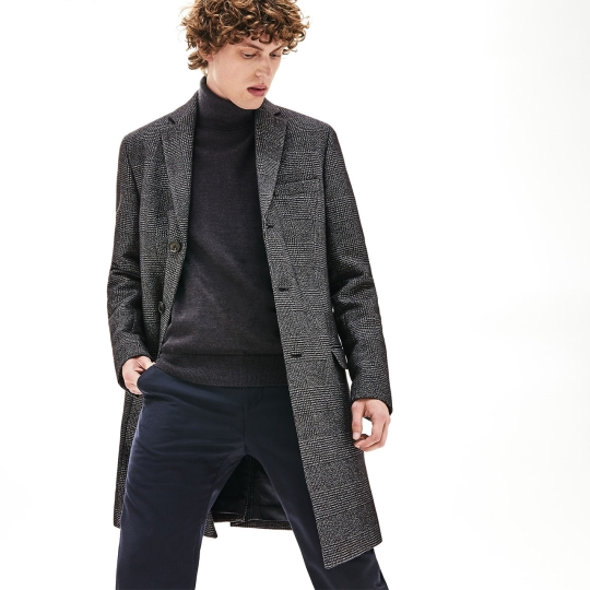 Take it to the Street in this Season's Perfect Storm of Outerwear at Lacoste