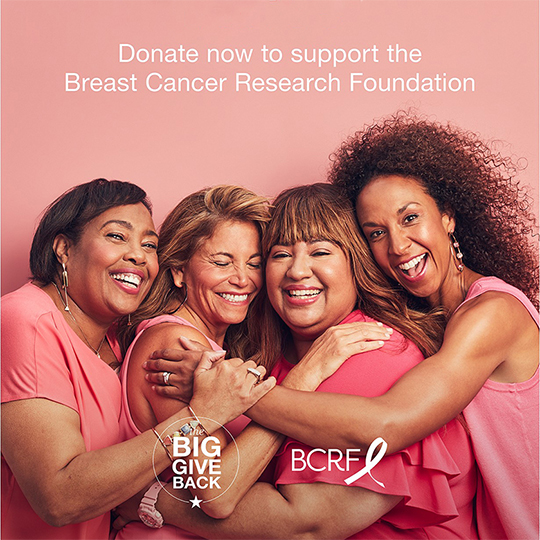 Support The Breast Cancer Research Foundation Donation at Macy's