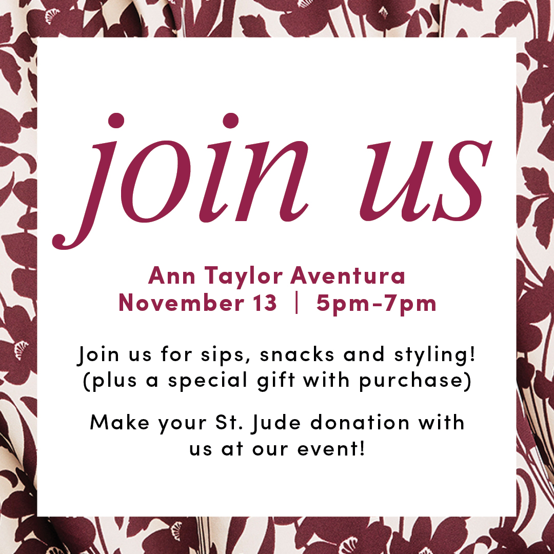 Ann Taylor for St. Jude