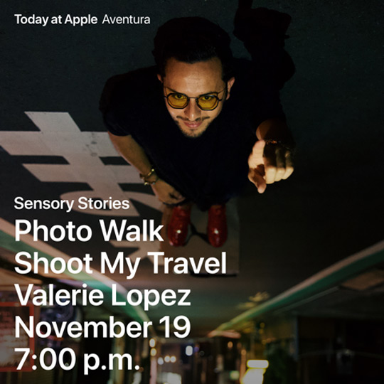 Today at Apple: Shoot My Travel