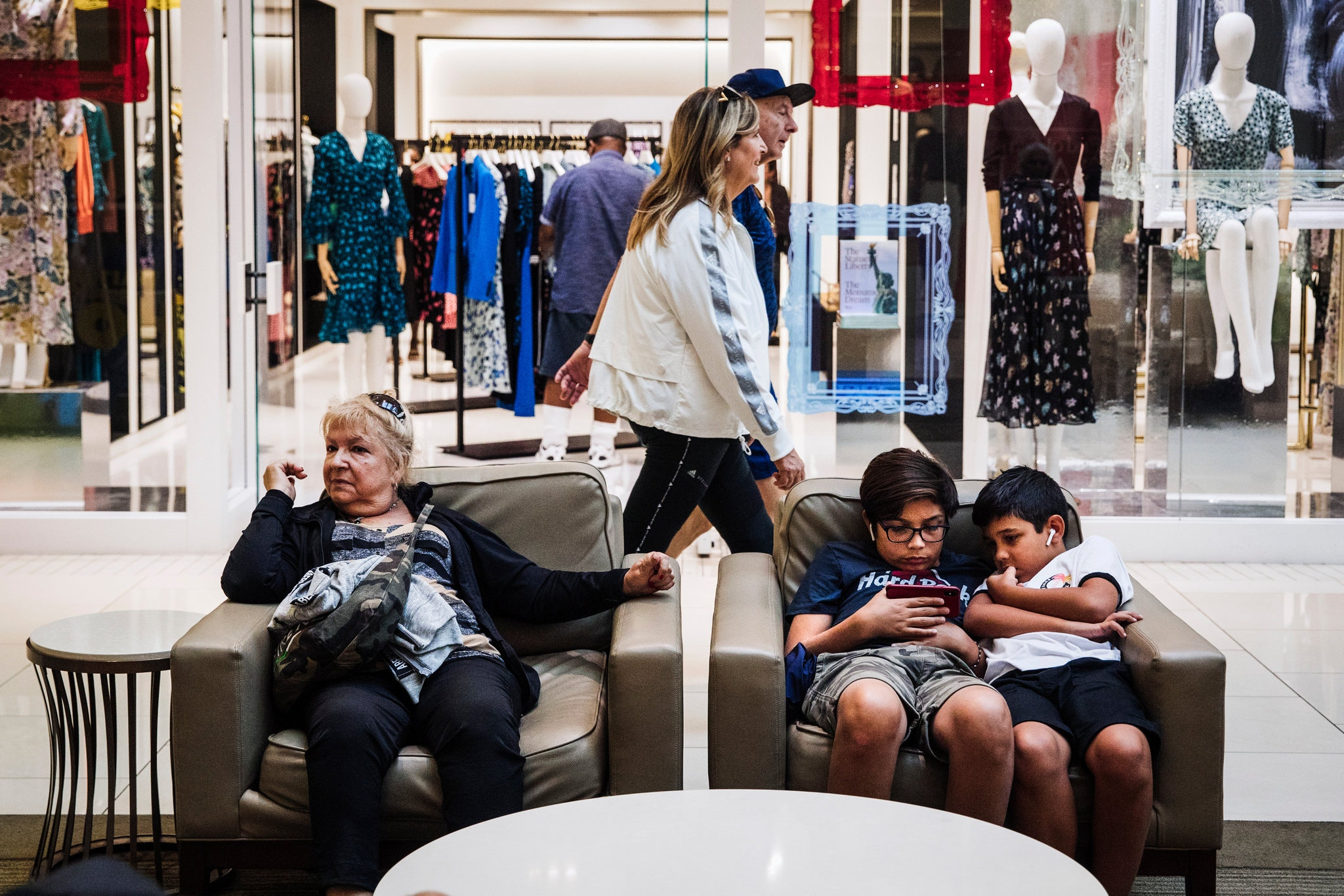 With an occupancy rate of nearly 100 percent, the mall is widely considered one of the most successful in the country. Credit...Scott McIntyre for The New York Times