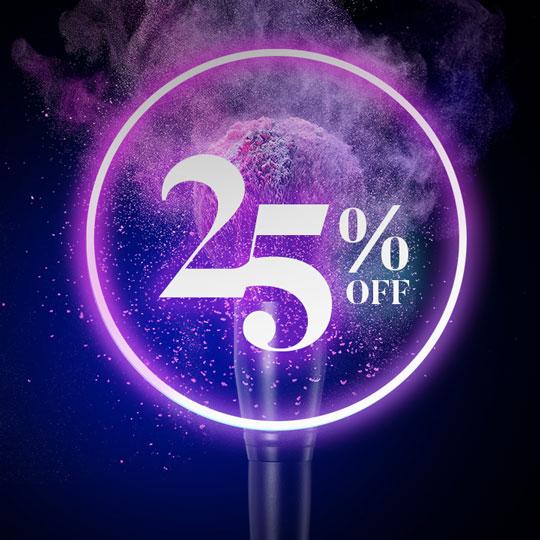 Morphe 25% Off Promotion