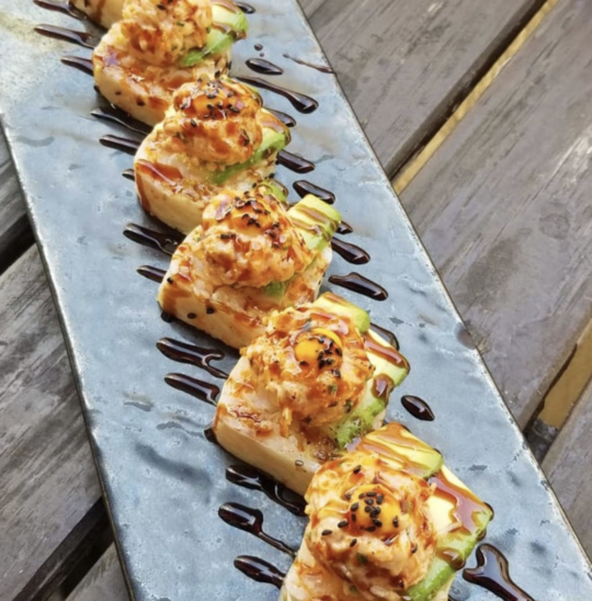 Indulge in Pubbelly Sushi's Special Roll