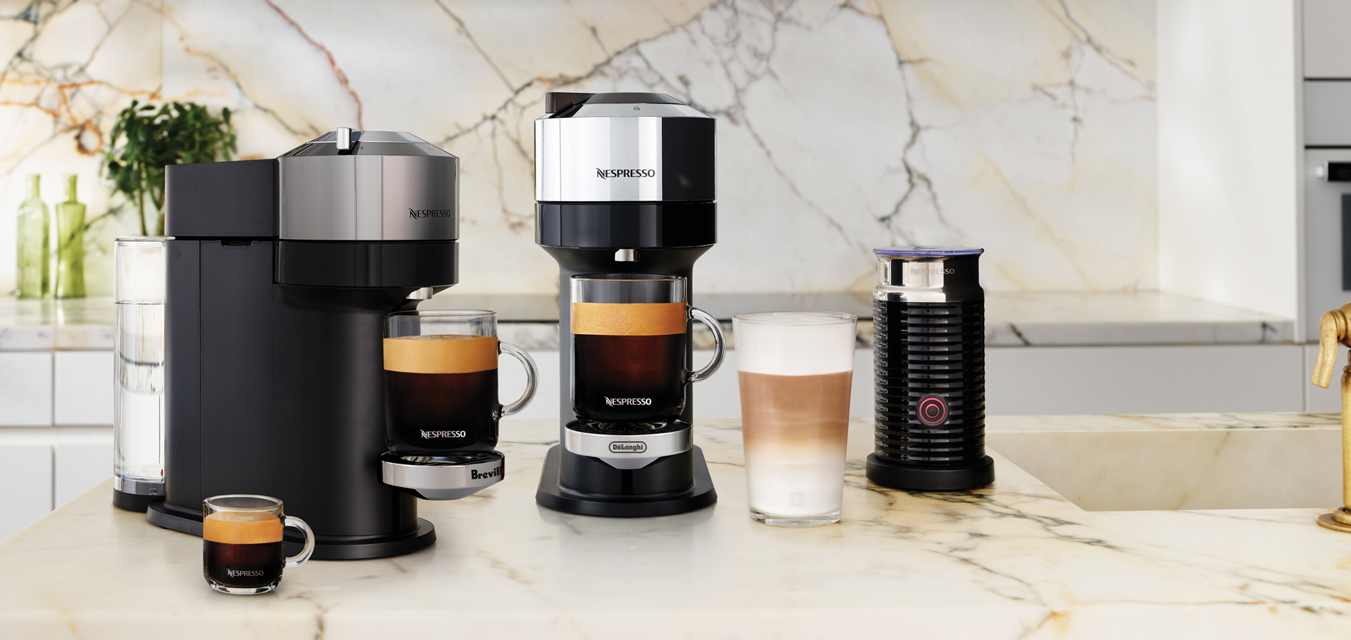 INTRODUCING NESPRESSO VERTUO NEXT DELUXE